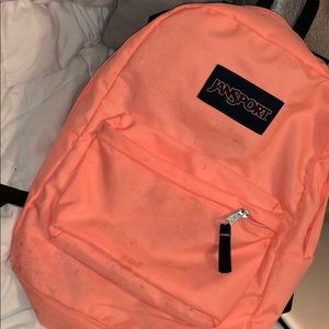 Peach Jansport Backpack